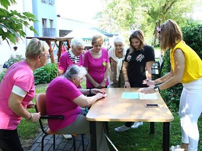 Ve Zdravotně sociálních službách Turnov vítali léto