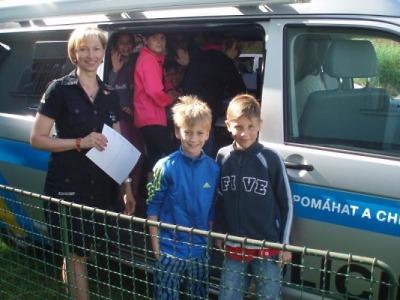 Děti z turnovské ZŠ navštívily policisty v Rychnově