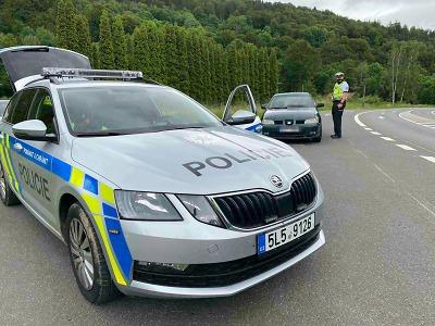 Policisté se při kontrolách zaměřili na motocyklisty
