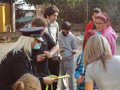 Policisté navštívili Základní školu speciální v Semilech