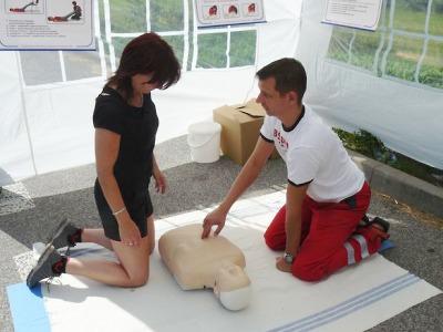 Pojizerští řidiči si vyzkoušeli, jak provádět resuscitaci