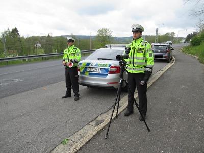 Policie se na začátku prázdnin zaměří na bezpečnost v silničním provozu