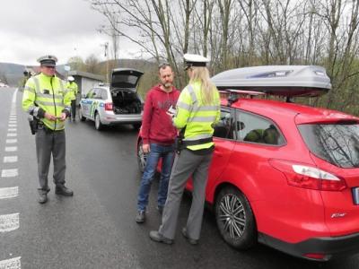 Policisté v Libereckém kraji kontrolovali alkohol a drogy za volantem