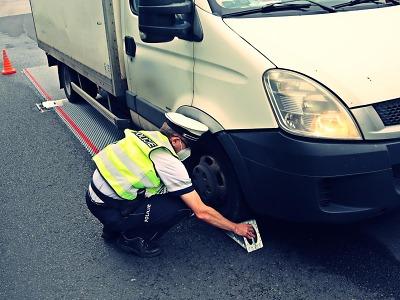 Policisté prováděli zvýšený dohled na páteřních silnicích v kraji