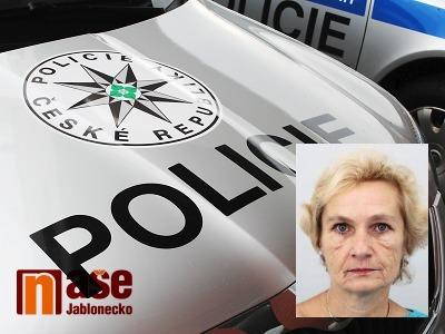 Pomozte při pátrání po pohřešované ženě z Jablonce