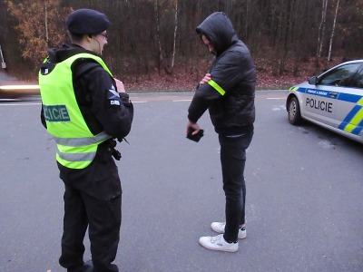Policisté se zaměřili na viditelnost chodců