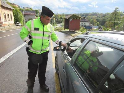 Policisté kontrolovali řidiče v celém Libereckém kraji