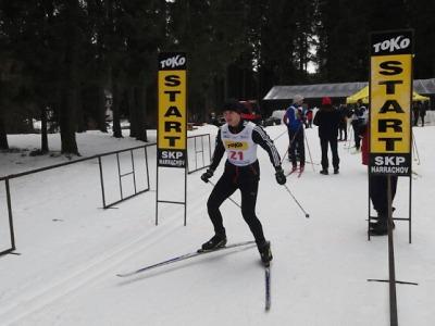 Krajští policisté v Harrachově soutěžili v běhu na lyžích