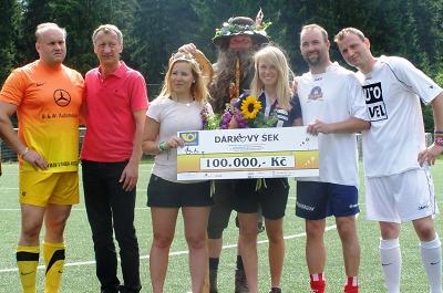 Šestý ročník Pomáháme fotbalem přinesl handicapovaným sto tisíc