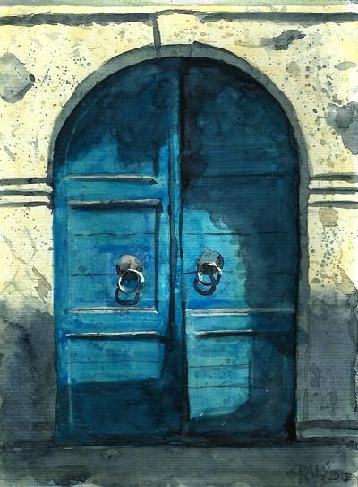 Příběhy dveří vypráví fotografie Miloně Potměšila