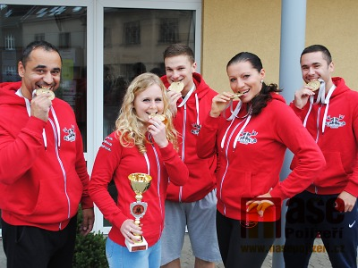 Všech pět zástupců Powerlifting Animals Semily si přivezlo z MS medaili