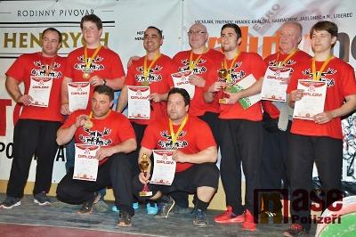 Powerlifting Animals Semily má deset medailí z českého šampionátu