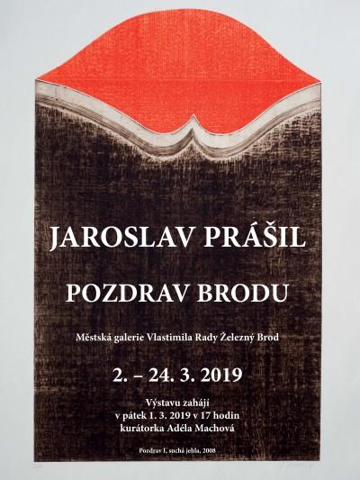 Výstava Pozdrav z Brodu představí práci výtvarníka Jaroslava Prášila