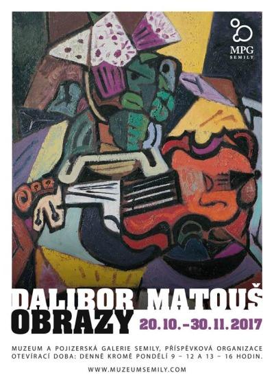 V Pojizerské galerii představí méně známé obrazy Dalibora Matouše