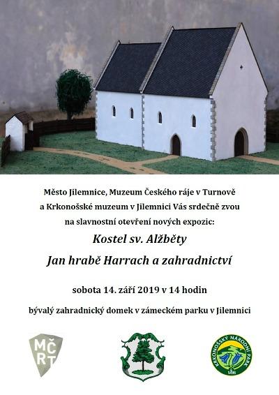 V zámeckém parku v Jilemnici slavnostně otevřou nové expozice