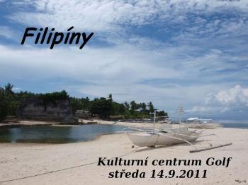 O Filipínách bude Daniel Mach vyprávět znovu v předsálí KC Golf