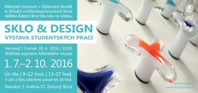Výstava studentských prací Sklo a design tentokrát v městském muzeu