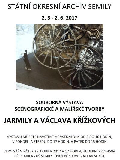 V semilském archivu představí tvorbu Jarmily a Václava Křížkových