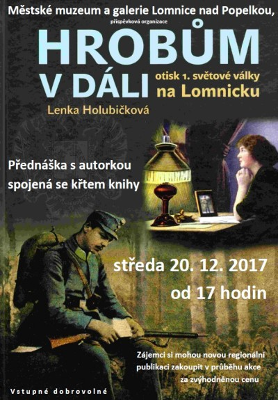 V lomnickém muzeu představí novou knihu o padlých v 1. světové válce