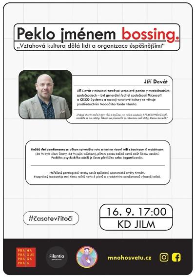 Co dělá jednotlivce a organizace úspěšnými ukáže přednáška v Jilemnici