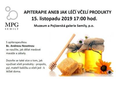 Jak léčí včelí produkty uvidíte na přednášce Apiterapie Andrey Novotné