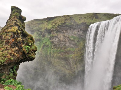 Za horskými prameny na Islandu šli cestovatelé Kvarda a Chlum