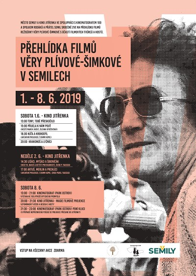 V Semilech pořádají přehlídku filmů k jubileu Věry Plívové Šimkové