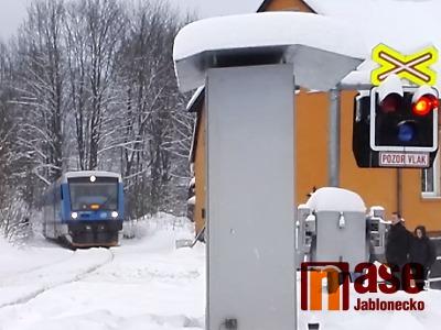 Po střetu s vlakem v Tanvaldě zemřela žena, další nehoda i na Smržovce