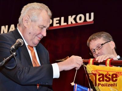 Obrazem: Návštěva prezidenta Miloše Zemana v Lomnici a Jilemnici