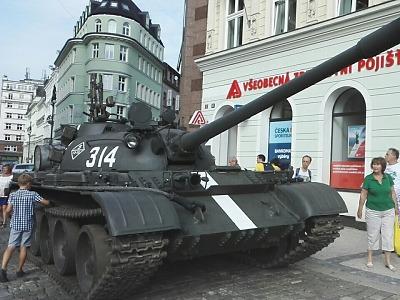 Pietní akt v Liberci připomněl 50 let od invaze vojsk Varšavské smlouvy