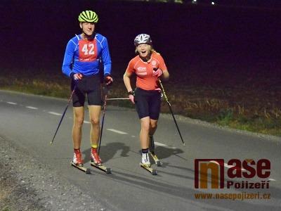 Běžci na kolečkových lyžích měli tři závody během víkendu