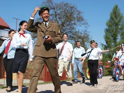 Obrazem: Jak probíhaly oslavy 1. máje 2012 v Kruhu