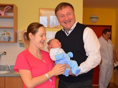 Prvním miminkem v kraji Luisa v Jilemnici, následoval Oliver v Jablonci