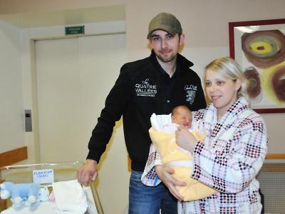 První miminkem Libereckého kraje v roce 2014 je holčička Isabel