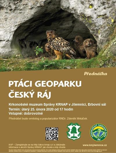 Zdeněk Mrkáček bude v Jilemnici povídat o ptácích v Českém ráji