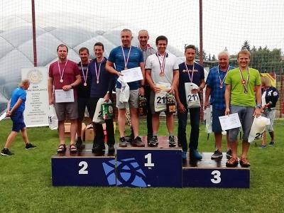Cenný kov přivezl Radek Musil z Mistrovství UNITOP v orientačním běhu