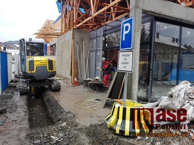Rekonstrukce obchodního centra v Semilech bude probíhat až do dubna