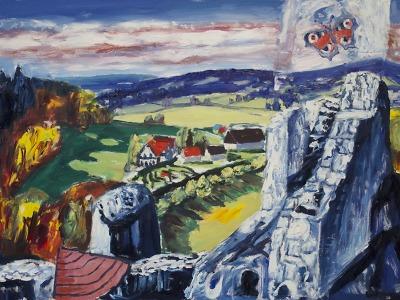 Krajina Českého ráje Richarda Náhlovského v Galerii Detesk