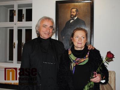 FOTO: Výstavu o F. L. Riegrovi v Semilech zahájil i jeho potomek