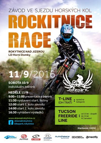 Bikepark v Rokytnici ožije o víkendu závody horských kol