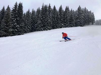 V Rokytnici hlásí 15 kilometrů sjezdovek a skvělé lyžařské podmínky