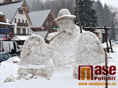 Sněhového Krakonoše letos najdete i v Rokytnici nad Jizerou