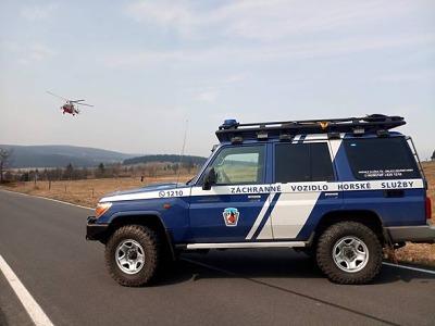 Úspěšná resuscitace záchranářů staršího muže ve Špindlerově Mlýně