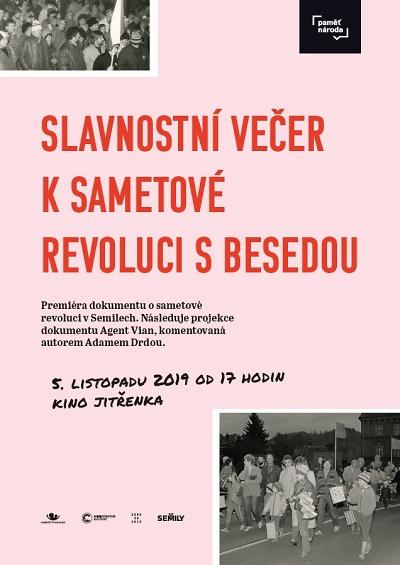 V semilském kině se koná slavnostní večer k výročí sametové revoluce
