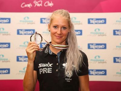 Sandra Schützová druhá ve světovém poháru na kolečkových lyžích