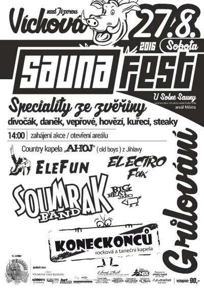 Saunafest ve Víchové se letos uskuteční již posedmé