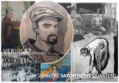 Saxofony uvedou v Muzeu Českého ráje výstavu Jakuba Lustiga