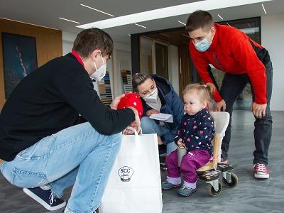 Nasčítané kilometry přispěly na pomoc nemocné Andulce