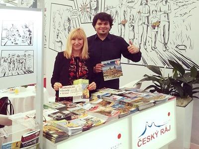 Český ráj prezentovali na veletrzích cestovního ruchu