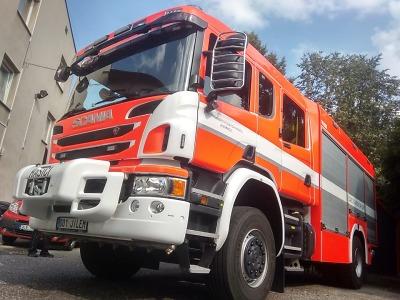 Jilemničtí hasiči převzali nové výjezdové vozidlo